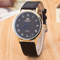 Roman Number Casual Leather Watch - Oh Yours Fashion - 3