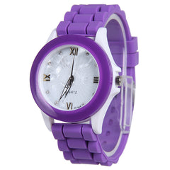 Butterfly Silica Gel Candy Color Watch - Oh Yours Fashion - 4