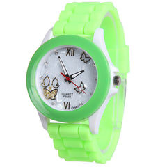 Butterfly Silica Gel Candy Color Watch - Oh Yours Fashion - 10