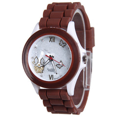 Butterfly Silica Gel Candy Color Watch - Oh Yours Fashion - 9