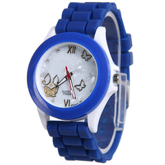 Butterfly Silica Gel Candy Color Watch - Oh Yours Fashion - 8