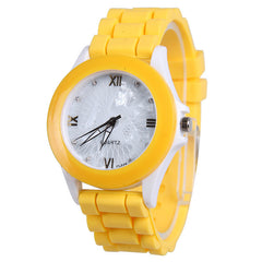 Butterfly Silica Gel Candy Color Watch - Oh Yours Fashion - 1