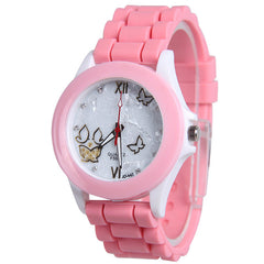 Butterfly Silica Gel Candy Color Watch - Oh Yours Fashion - 6