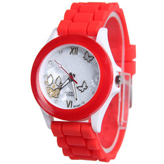 Butterfly Silica Gel Candy Color Watch - Oh Yours Fashion - 3