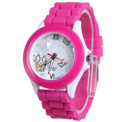 Butterfly Silica Gel Candy Color Watch - Oh Yours Fashion - 7