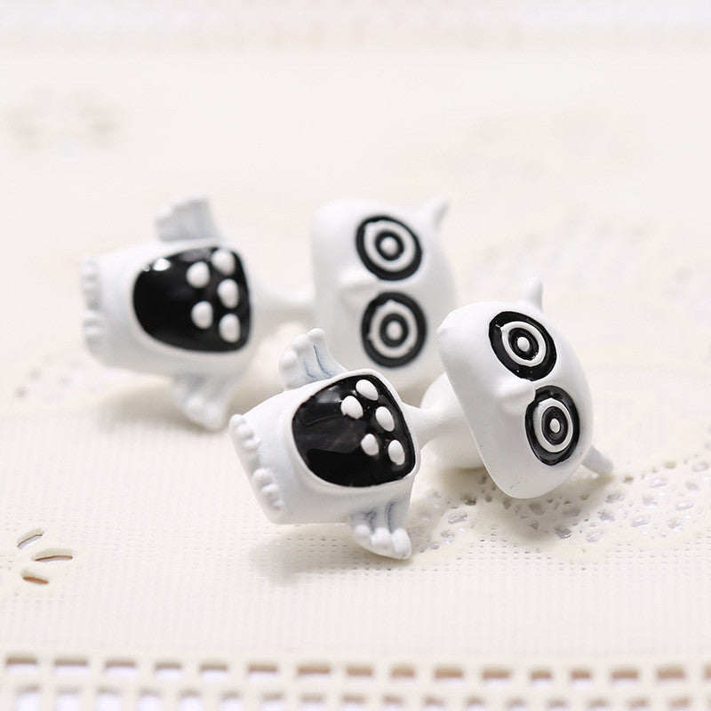 3D Cartoon Animals Through Stud Earrings - Oh Yours Fashion - 11