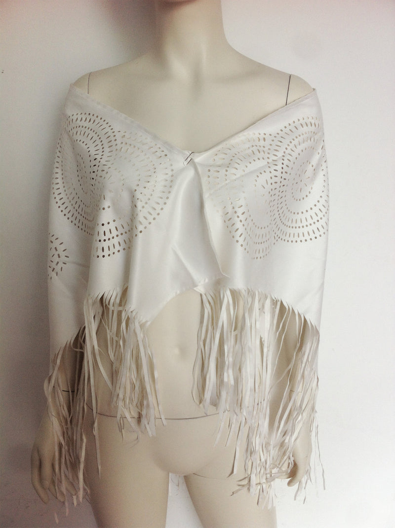 Fashion Bohemia Style Hollow Out Tassel Shawl Cardigan - Oh Yours Fashion - 5