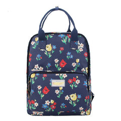 Fashion Floral Print Handle School Backpack Travel Bag - Oh Yours Fashion - 14
