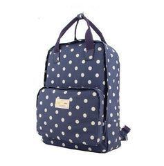 Fashion Floral Print Handle School Backpack Travel Bag - Oh Yours Fashion - 5