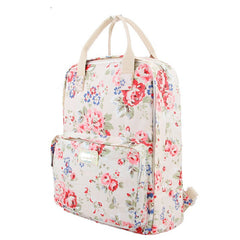Fashion Floral Print Handle School Backpack Travel Bag - Oh Yours Fashion - 6
