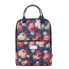 Fashion Floral Print Handle School Backpack Travel Bag - Oh Yours Fashion - 3