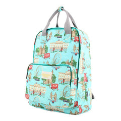 Fashion Floral Print Handle School Backpack Travel Bag - Oh Yours Fashion - 12