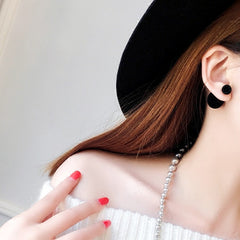 Korea Style Velvet Ball Fashion Earring - Oh Yours Fashion - 4
