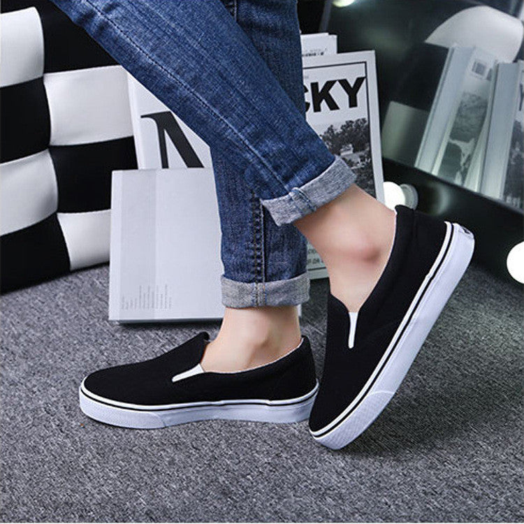 Classic Low Cut Canvas Couple Sneakers - Oh Yours Fashion - 4