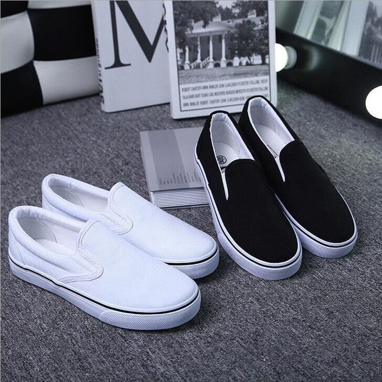 Classic Low Cut Canvas Couple Sneakers - Oh Yours Fashion - 1