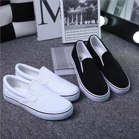 Classic Low Cut Canvas Couple Sneakers