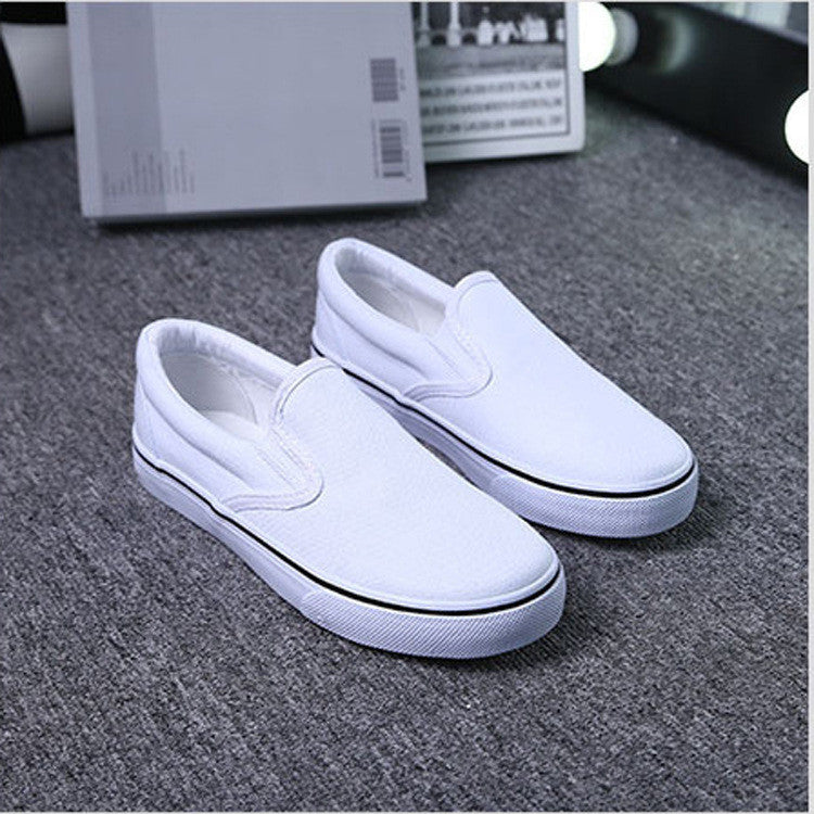 Classic Low Cut Canvas Couple Sneakers - Oh Yours Fashion - 2