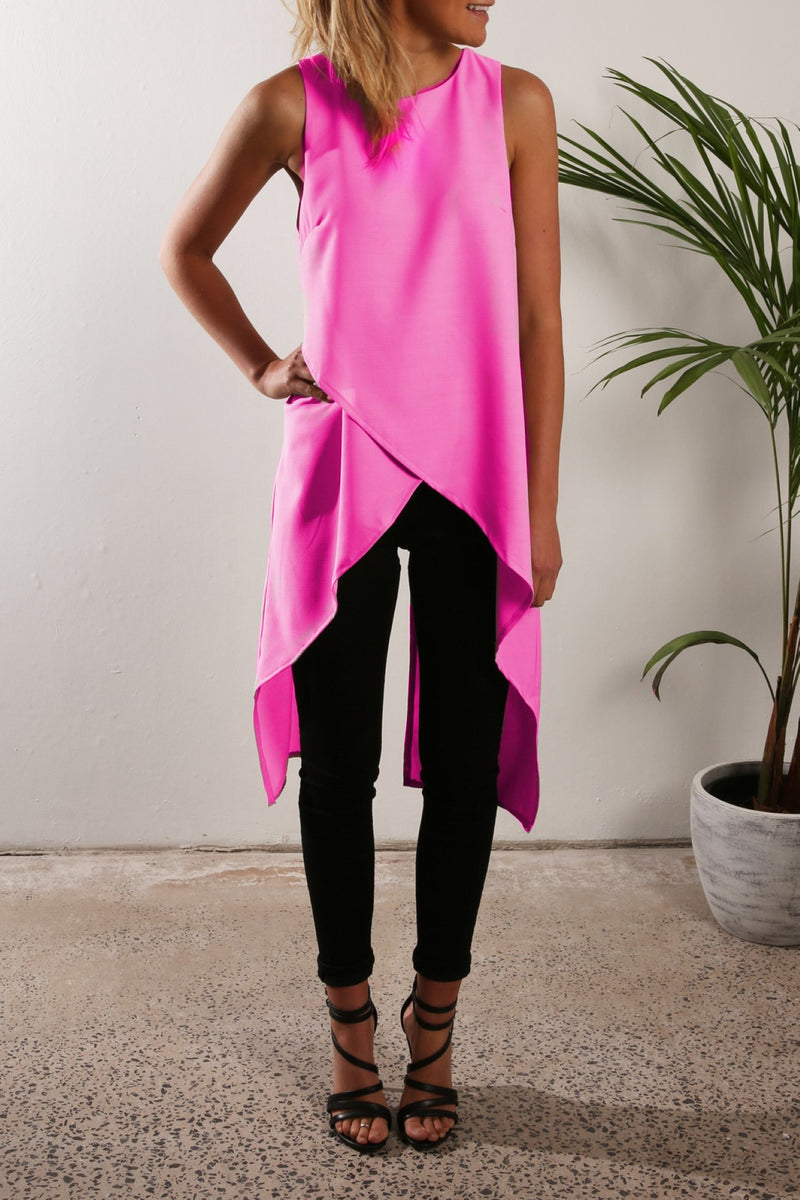 Irregular Strap Pure Color Chiffon Crossover Blouse - Oh Yours Fashion - 6