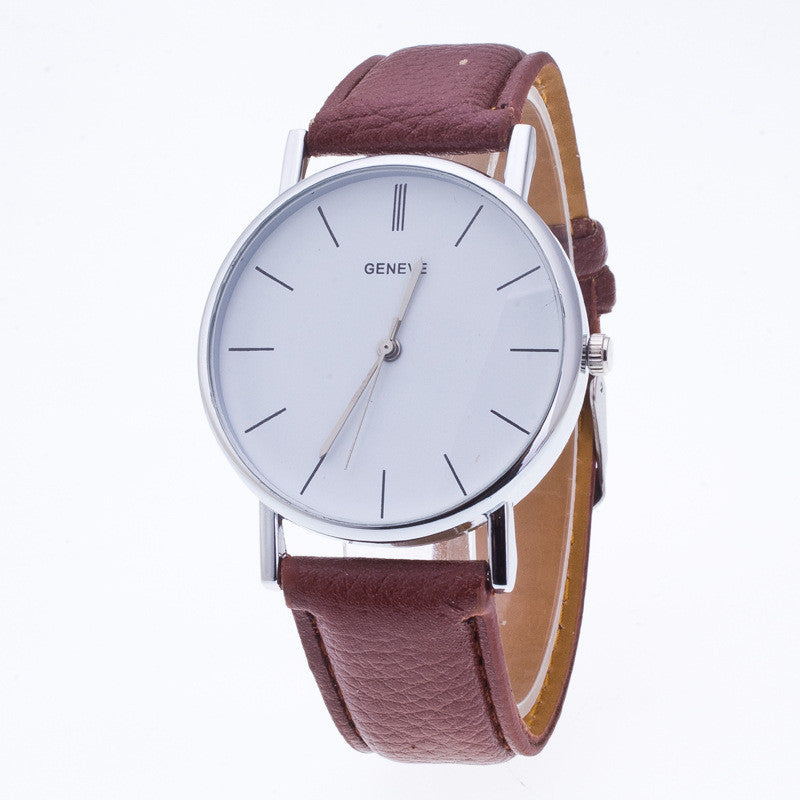 Classic High-End Leather Watch - Oh Yours Fashion - 1