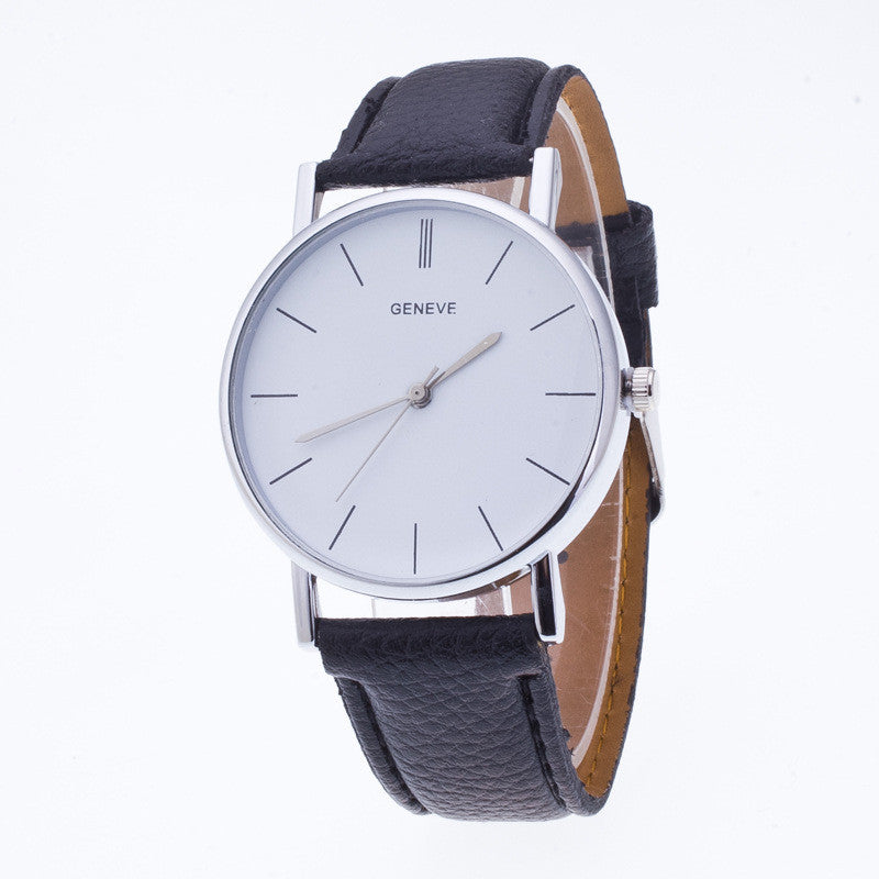 Classic High-End Leather Watch - Oh Yours Fashion - 3