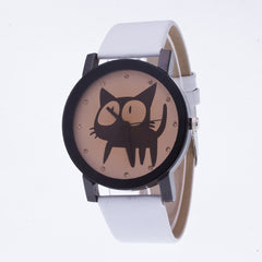 Sweet Cat Pattern Leather Watch - Oh Yours Fashion - 2