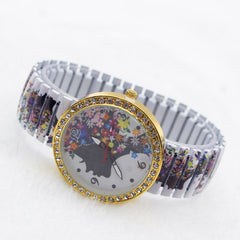 Beauty Women Flower Crystal Watch - Oh Yours Fashion - 2