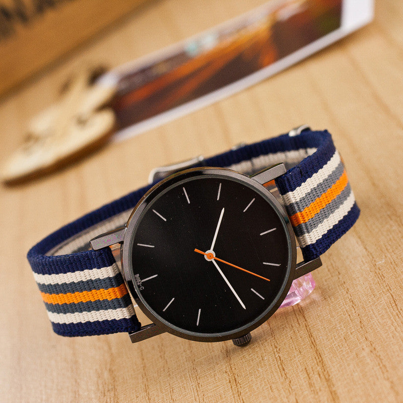 Casual Nylon Stripe Watch - Oh Yours Fashion - 2