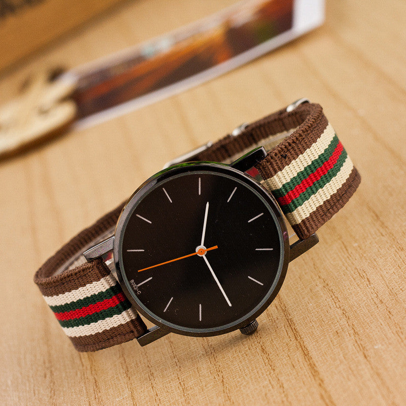 Casual Nylon Stripe Watch - Oh Yours Fashion - 4