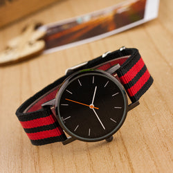 Casual Nylon Stripe Watch - Oh Yours Fashion - 1