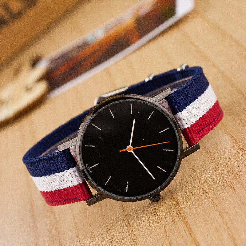 Casual Nylon Stripe Watch - Oh Yours Fashion - 3