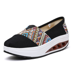 Shaking Print Women's Breathable Sneakers - Oh Yours Fashion - 5