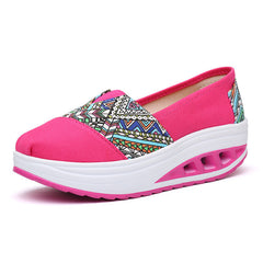 Shaking Print Women's Breathable Sneakers - Oh Yours Fashion - 4