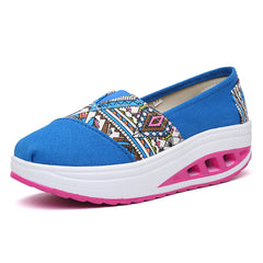 Shaking Print Women's Breathable Sneakers - Oh Yours Fashion - 6