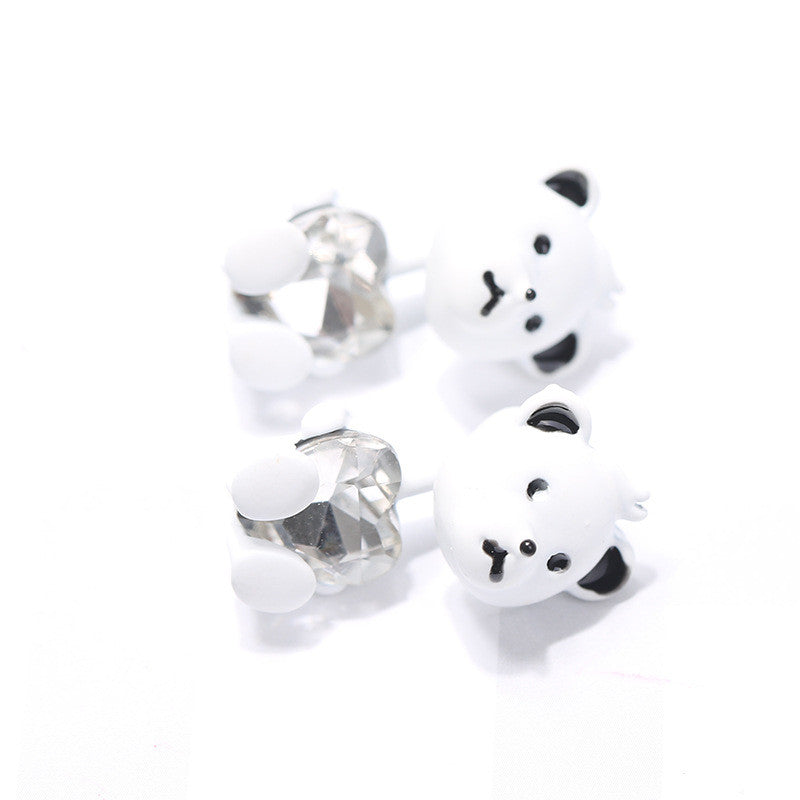 3D Cartoon Animals Through Stud Earrings - Oh Yours Fashion - 19