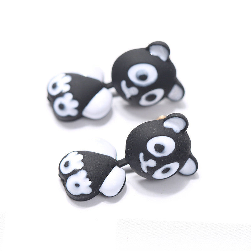 3D Cartoon Animals Through Stud Earrings - Oh Yours Fashion - 20