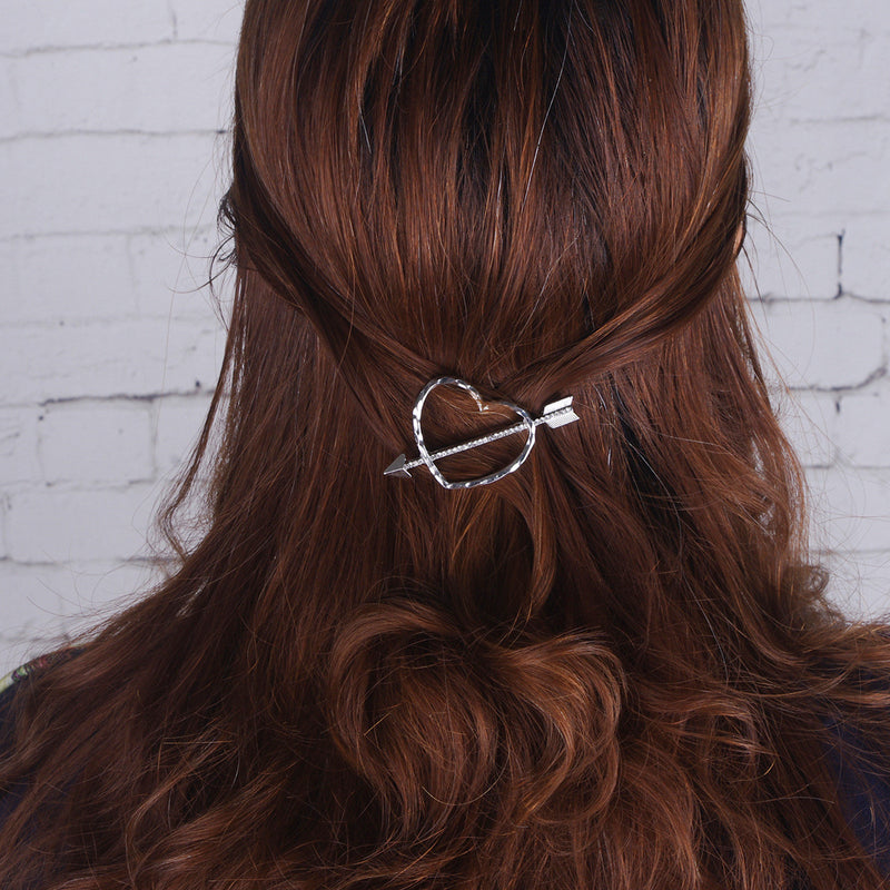 Sweet Heart Arrow Women's Hairpin - Oh Yours Fashion - 1