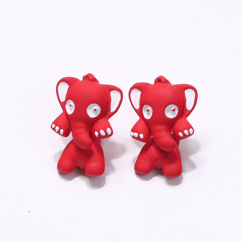 3D Cartoon Animals Through Stud Earrings - Oh Yours Fashion - 17