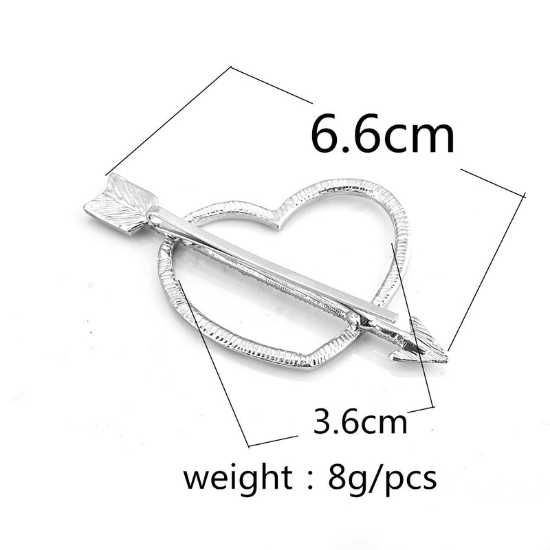 Sweet Heart Arrow Women's Hairpin - Oh Yours Fashion - 5
