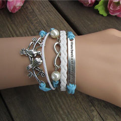 Retro Dove Fashionable Beautiful Hand-made Bracelet - Oh Yours Fashion - 2