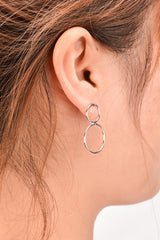 Good Luck 8 Shape Eomen's Joker Earrings - Oh Yours Fashion - 6