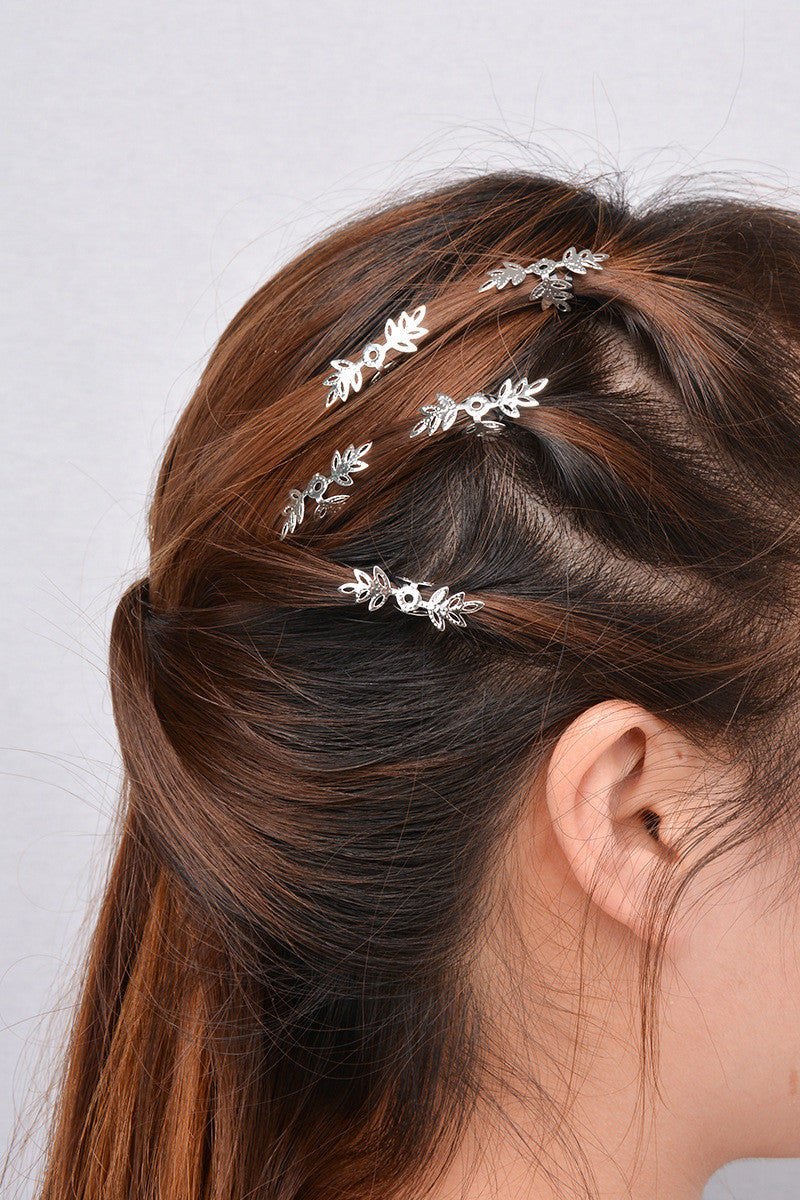 Beautiful Snowflake Lady's Hair Clips - Oh Yours Fashion - 3