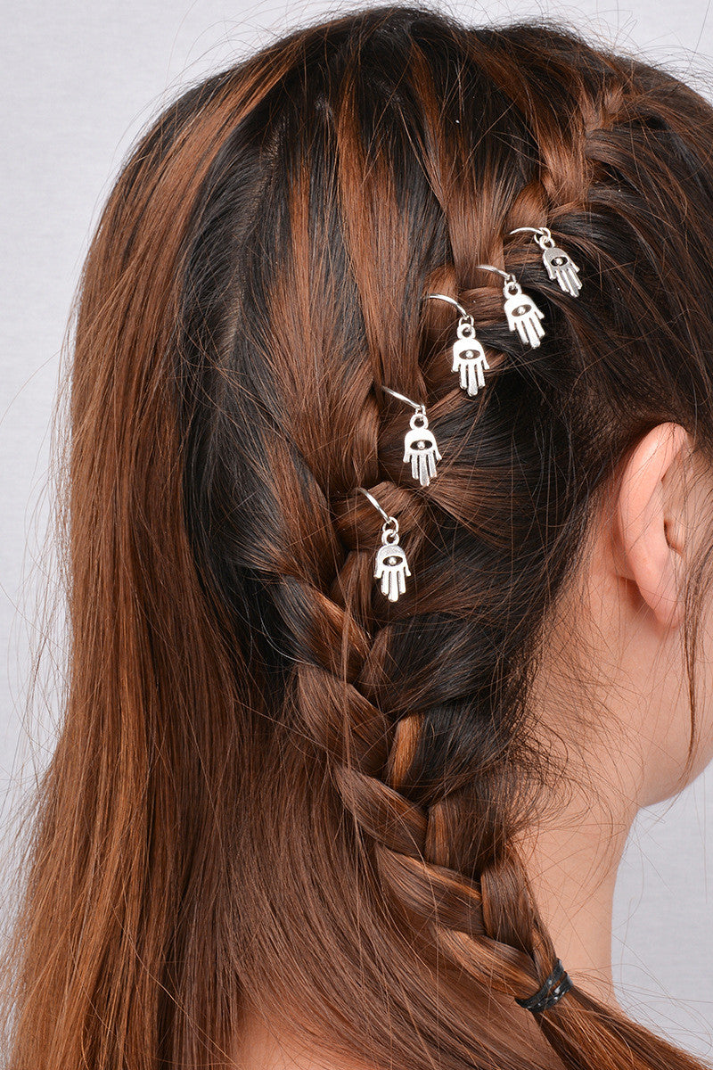 Unique African Stars Plait Leaves 5 Hairpin - Oh Yours Fashion - 3