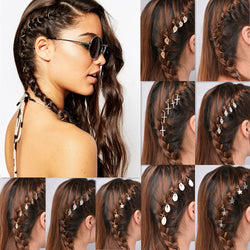Unique African Stars Plait Leaves 5 Hairpin - Oh Yours Fashion - 1