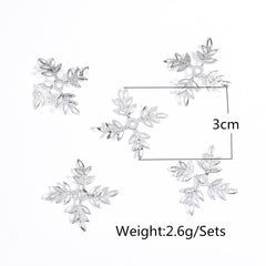 Beautiful Snowflake Lady's Hair Clips - Oh Yours Fashion - 5