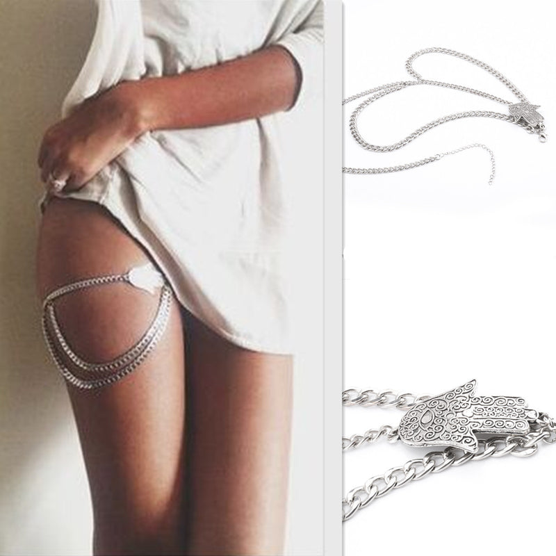 Fashion Sexy Hand Tassel Leg Chain - Oh Yours Fashion - 1
