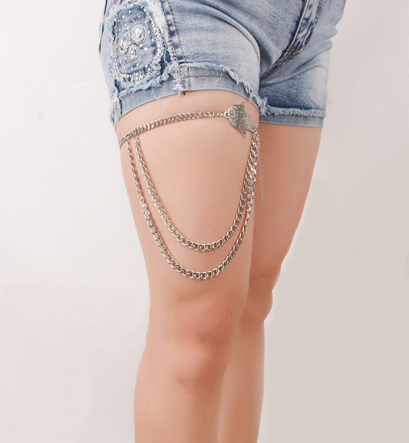 Fashion Sexy Hand Tassel Leg Chain - Oh Yours Fashion - 2