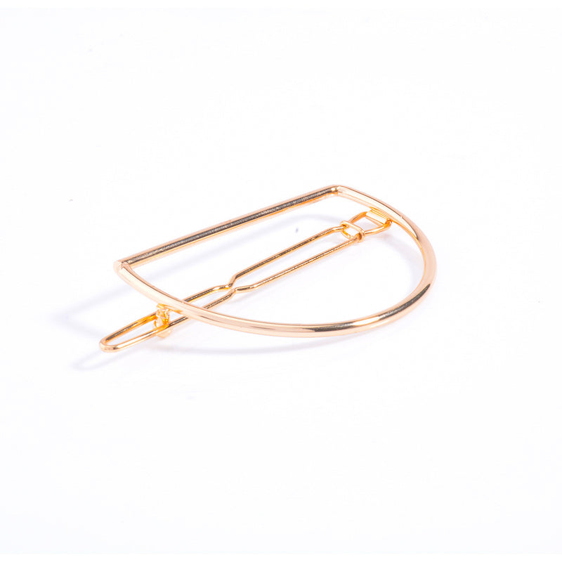Simple D Shape Women's Hairpin - Oh Yours Fashion - 2
