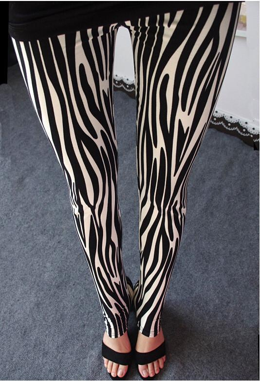 Plus Size Milk Silk Flower Print Thin Elastic Pants - Meet Yours Fashion - 1