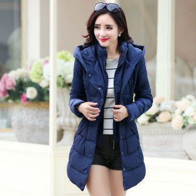 Warm Thick Long Women's Hoodie Coat - Oh Yours Fashion - 6