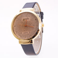 Frosting Crystal Lady's Quartz Watch - Oh Yours Fashion - 5